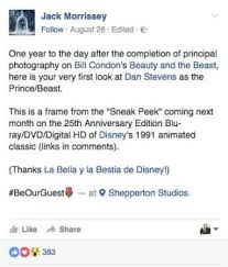 beauty beast 2017 cast trailer release