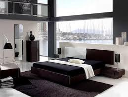 elegant modern black bedroom decorating ideas for mens apartment