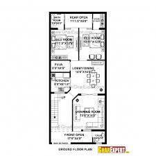 Wonderful 25 X 50 House Plans Planskill 15 50 Home Plans Image 16 X 50 Floor Plans