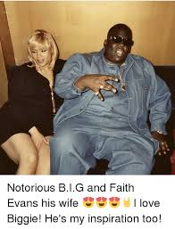 Notorious Big Meme - tenses notorious big and faith evans his wife i love biggie