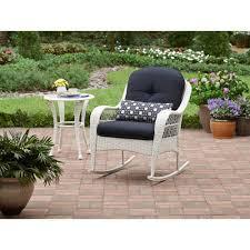 Wicker Rocker Patio Furniture - tortuga portside coastal white wicker conversation set ps 3379