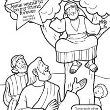 Coloring Page Of Jesus And Zacchaeus Archives Mente Beta Most Zacchaeus Coloring Page