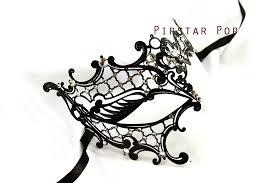 metal masquerade mask phantom of the opera venetian filigree scroll work metal