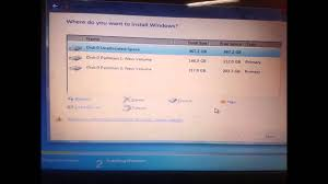 cannot format gpt drive windows cannot be installed to this disk the selected disk is of the