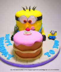 the sensational cakes giant minions cake singapore despicable