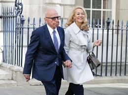 rupert murdoch and jerry hall get married at spencer house in