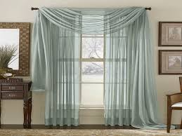 Window Scarves For Large Windows Inspiration Curtain Ideas For Large Windows Pattern Grey Sheer