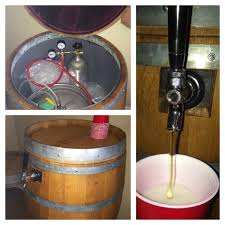 Best Kegerator Wine Barrel Kegerator Complete System Including Co2 Tap Things