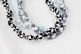beads knots necklace images Bead and knot statement necklace teething necklace jpg