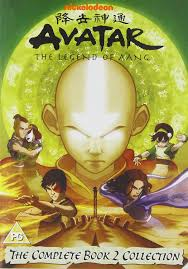 avatar airbender complete 3 book collection dvd