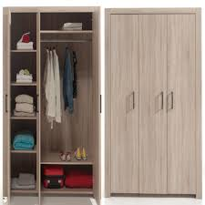 alinea chambre alinea chene clair chambre ado l armoire 3 portes haut 3 dedans