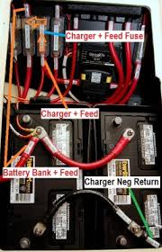 installing a marine battery charger photo gallery by compass