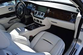 rolls royce cullinan interior rolls royce interior white leather and wood grain dash beverly