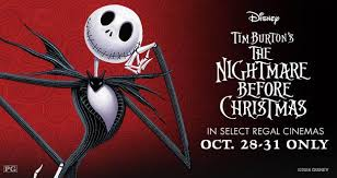 the nightmare before returns to regal cinemas this