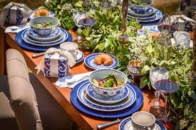 Blue Table L 52 Design Your Own Table Setting Blue Table Setting Inspiration