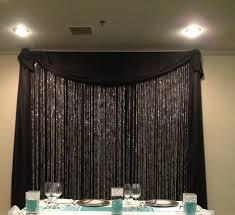 Black Backdrop Curtains Backdrop Beaded Curtains Affordable Elegance Inc Black Led