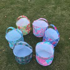 easter buckets wholesale wholesale blank easter easter egg bag lilly inspired