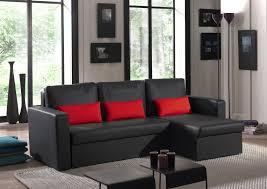 canapé d angle noir et gris canapé d angle contemporain reversible convertible en pu noir