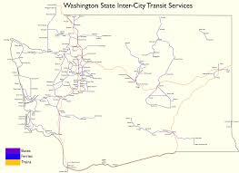 Eatonville Washington Map by A Map Of Transit Across Washington State Transit 509