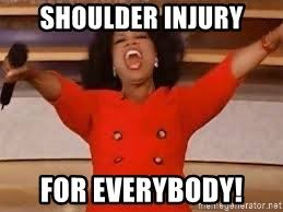 Injury Meme - shoulder injury meme injury best of the funny meme