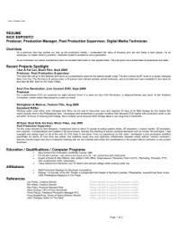 Music Resume Example by Free Resume Templates 85 Inspiring Example Of A Professional One