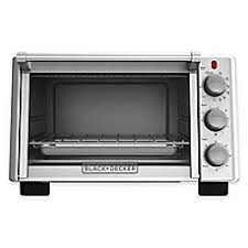 Black Decker Tr1400sb 4 Slice Stainless Steel Toaster Toasters Convection Toaster Ovens Bed Bath U0026 Beyond