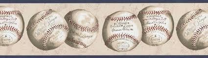 baseball mini wallpaper border bz9482b boys little league clip
