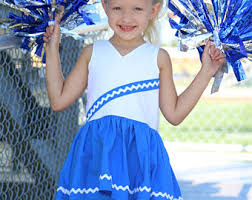 Girls Cheerleader Halloween Costume Cheerleader Uniform Etsy