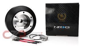 nissan 350z quick release steering wheel nrg innovations nrg short steering wheel hub adapter nissan 350z