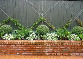 Best  Brick Wall Gardens Ideas On Pinterest Brick Courtyard - Wall garden design