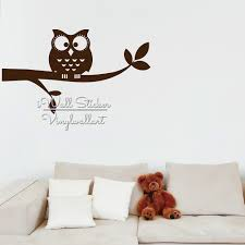 Owl Wall Sticker Compare Prices On Owl Baby Nursery Wall Stickers Online Shopping