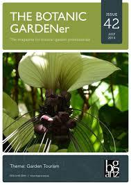 Cairns Botanical Garden by The Botanic Gardener Issue 42 July 2015 By Bganz Issuu