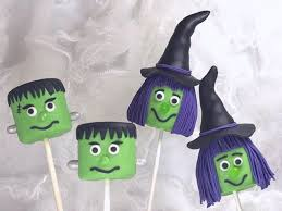 How To Decorate A Cake For Halloween Halloween Marshmallow Pops Tutorial Cakecentral Com