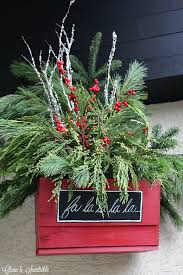 christmas hanging baskets with lights christmas hanging baskets clean and scentsible