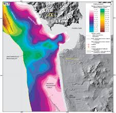 San Francisco In Us Map by New Maps Reveal Seafloor Off San Francisco Area