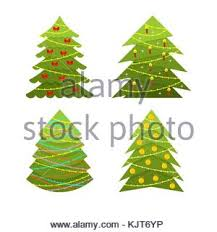Retro simple stylized pine tree forest pattern background design