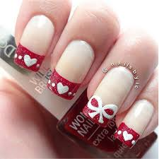 very simple u0026 easy valentine u0027s day nail art designs u0026 ideas for