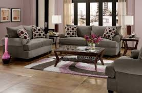 Gray And Burgundy Living Room | decorative pillows add a splash of color living rooms room and