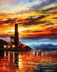 when dreams come true u2014 palette knife oil painting on canvas by