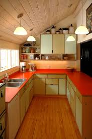 best 25 orange kitchen furniture ideas on pinterest orange kerf cabinets with laminate countertops in the kitchen