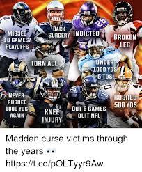 Madden Memes - 25 best memes about madden curse madden curse memes