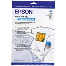 epson iron on transfer paper 10 pack officeworks