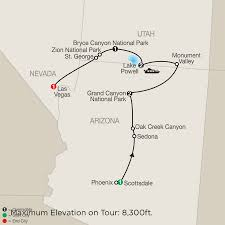 Monument Valley Utah Map by America National Park Vacation Packages U0026 Tours Globus