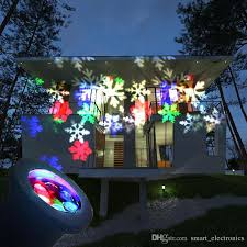 2018 decoration l led snowflake spotlight led