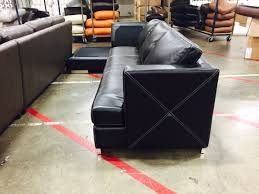 Montebello Collection Furniture Decorating Fifth Avenue Sofa By Omnia Leather In Black For Living