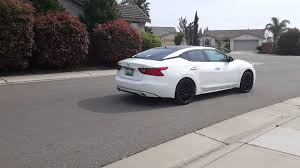 2016 nissan maxima youtube 2016 nissan maxima magnaflow exhaust drive by youtube