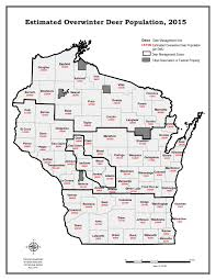 Sheboygan Wisconsin Map by Deer Abundance And Density Maps Wisconsin Dnr