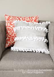 Homemade Duvet Cover Diy Anthro Inspired Pillow I Heart Nap Time