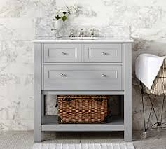 bathroom vanities sink consoles pottery barn
