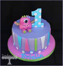 Monster Halloween Ottawa by Girly Little Monster Cake Www Facebook Com I Love Cuteology Cakes